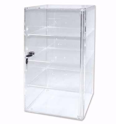 Acrylic 4-Shelf Tower Display Case
