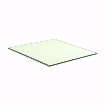 14 Inch Tempered Square Glass Shelf