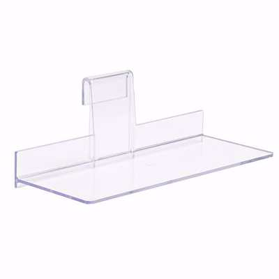 Gridwall Economy Acrylic Shelf 9x4