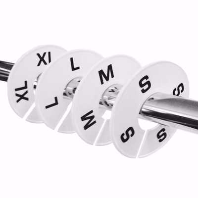Round Size Dividers Set (letter sizes)