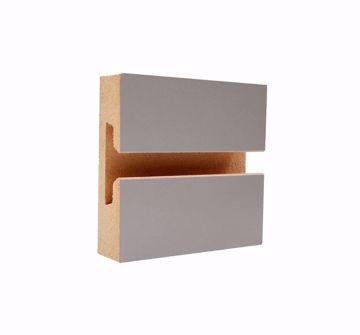 Slatwall Panel Grey Laminate