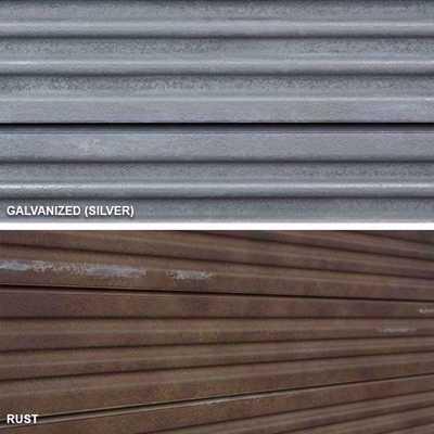 SlatTex Metal Textured Slatwall Panel