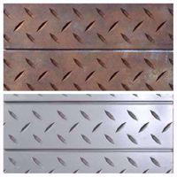 SlatTex Diamond Plate Textured Slatwall Panel