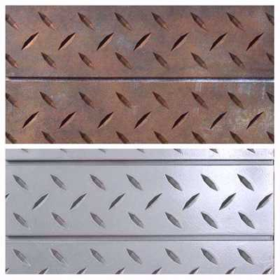 SlatTex Diamond Plate Textured Slatwall Panel