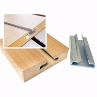 Slatwall Single Mill Aluminum Insert