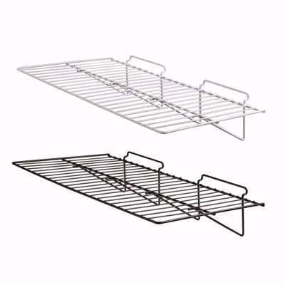 Slatwall Wire Shelf 24x12