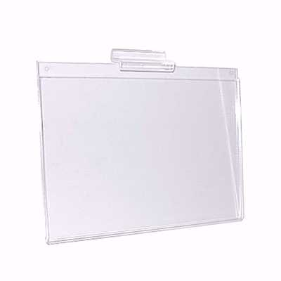 Slatwall Acrylic Sign Holder 11X8.5