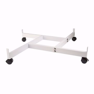 Grid Pinwheel Dolly White