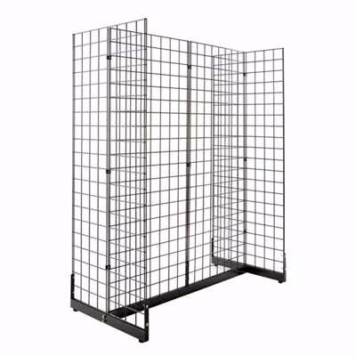 Gridwall Gondola Set Black