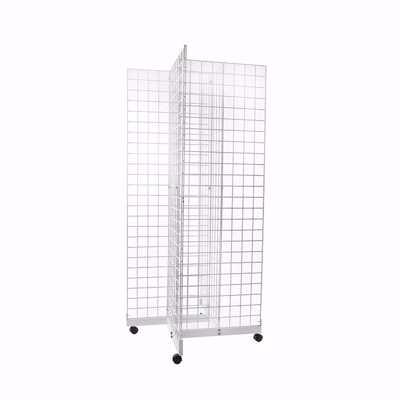 Gridwall Pinwheel Merchandiser White