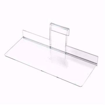 Gridwall Economy Acrylic Shelf 10x4