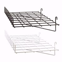 Grid Wire Straight Shelf with Lip