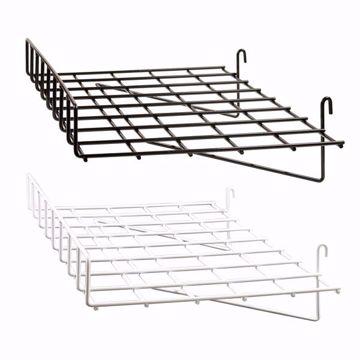 Grid Wire Straight Shelf with Lip