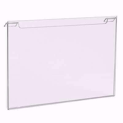 Gridwall Acrylic Sign Holder 11x7