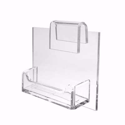 Gridwall Acrylic Business Card Holder