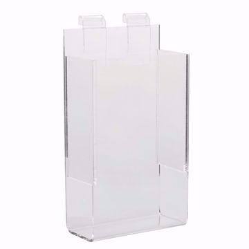 Gridwall Acrylic Single Brochure Holder 4x9