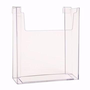 Gridwall Acrylic Single Brochure Holder 8.5x11