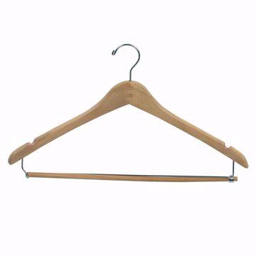 17 inch Wishbone Wood Pant & Suit Hangers