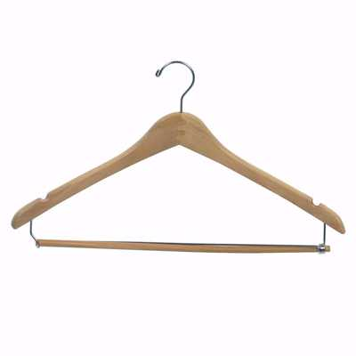 17 inch Wishbone Wood Pant & Suit Hangers