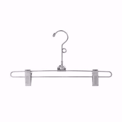 12 inch Metal Skirt Hangers with Loop Hook