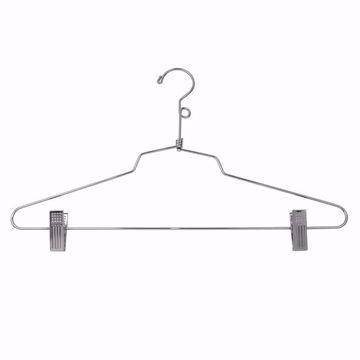 16 inch Metal Combo Hangers with Loop Hook