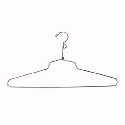 16 inch Metal Top Hangers with Loop Hook