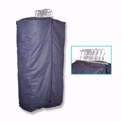Salesman Canvas Garment Sample Bag Display Warehouse Retail Fixtures Display Cases And Store Supplies