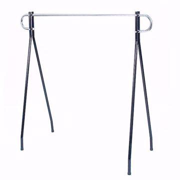 Portable Black Beauty Clothing Rack