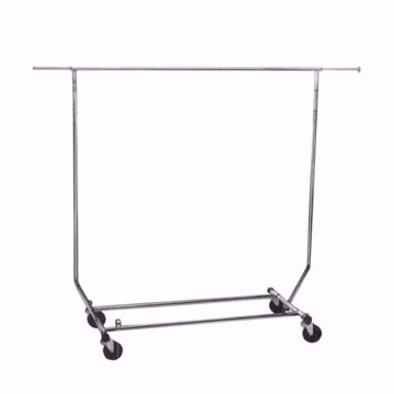 Collapsible Garment Rolling Rack