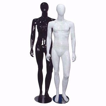 Full Body Glossy Male Mannequin