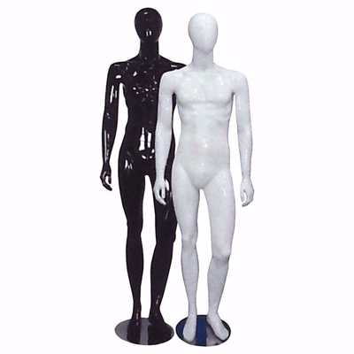 Full Body Glossy Male Mannequin