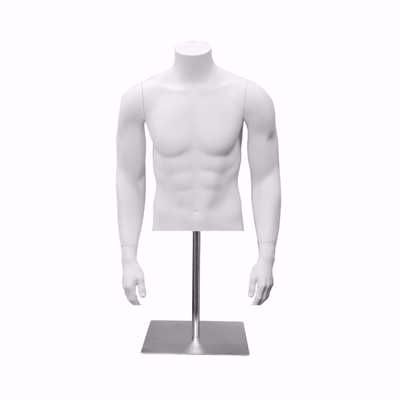 Male Fiberglass Torso Form Pose 1
