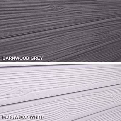 SlatTex Barnwood Textured Slatwall Panel