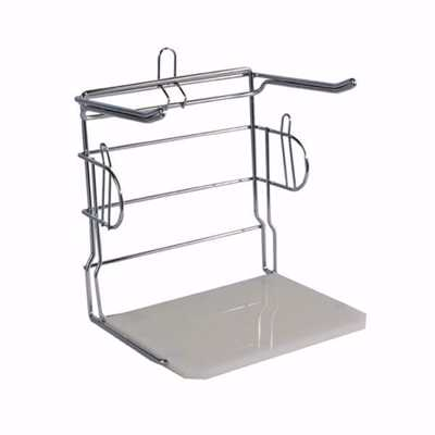 Freestanding Shopping Bag Rack Stand