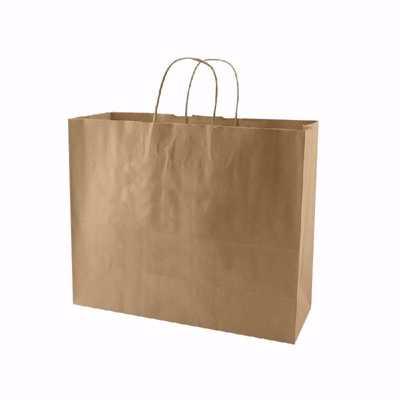 Plain Kraft Paper Shopping Bags (medium)