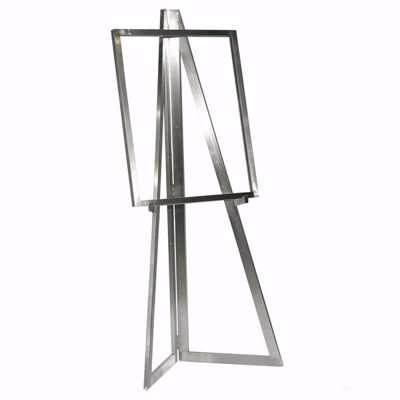 Floor Standing Folding Easel with Sign Frame