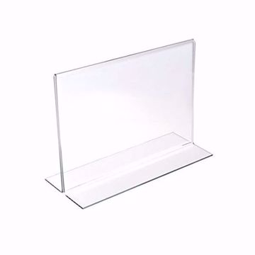 Two Sided Bottom Load Sign Holder 7 x 5.5