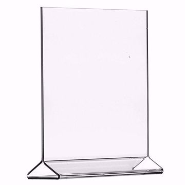 Acrylic Top Loading Sign Holder 8.5 x 11