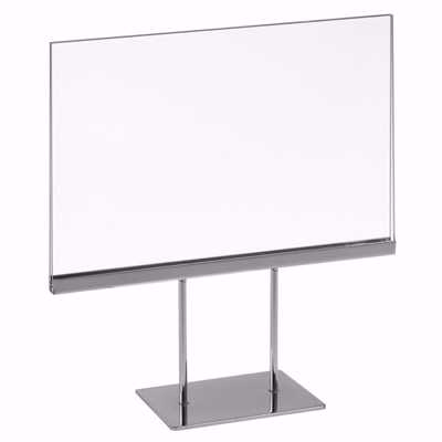 Acrylic Sign Holder with Stand 7x1