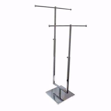 2-Tier Metal Countertop Jewelry Display Stand