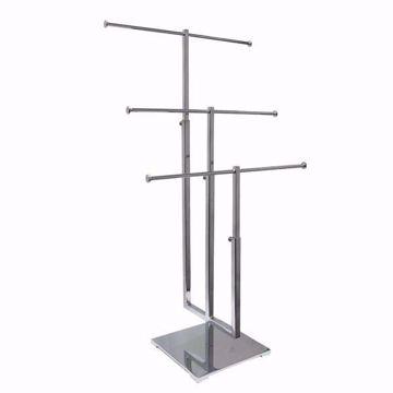 3-Tier Metal Countertop Jewelry Display Stand