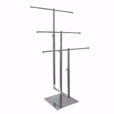 3-Tier Metal Countertop Jewelry Display Stand