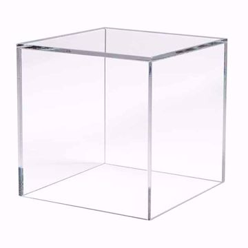 "5 Sided Acrylic Cube - 12"""