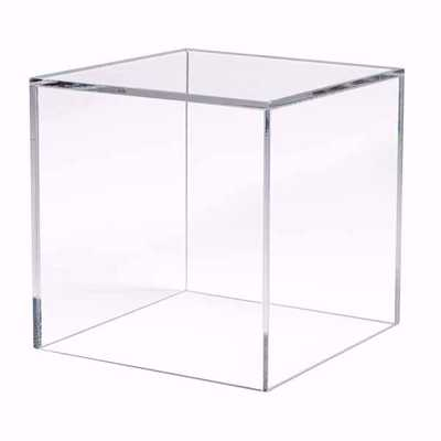 5 Sided Acrylic Cube - 12""
