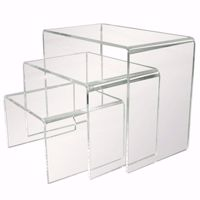Acrylic Medium Riser Set of 3