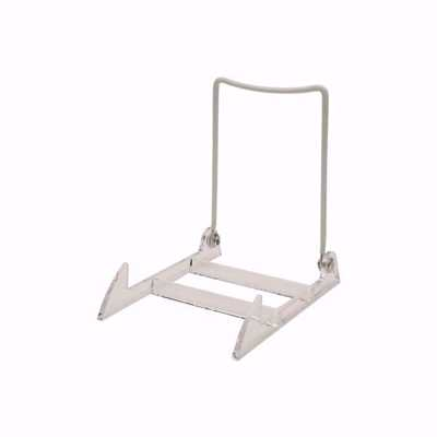 Small Acrylic Base Wire Back Easels (Dozen)