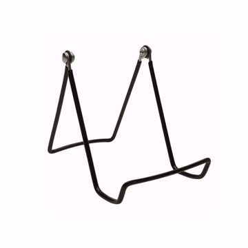Medium Adjustable Wire Easels (Dozen) BLACK