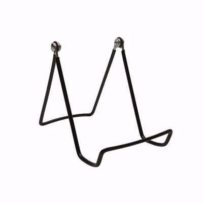 Medium Adjustable Wire Easels (Dozen) BLACK
