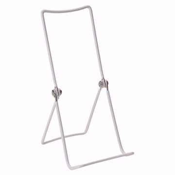 3-Wire Tall Adjustable Display Stand WHITE
