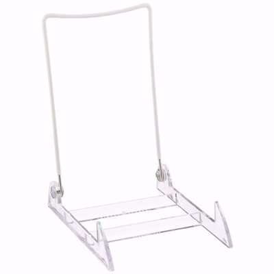Large Acrylic Base Wire Back Easels (Dozen)